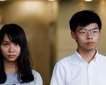 Nhà hoạt động Hong Kong Hoàng Chi Phong bị bắt lại sau chuyến đi Đài Loan