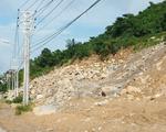 Nổ mìn khai thác đá trái phép trên đảo Hòn Sơn