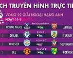 Lịch trực tiếp bóng đá châu Âu 11-1: Tâm điểm Tottenham - Liverpool