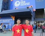 Vé trận U23 VN - UAE bắt đầu