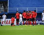 Đánh bại Iran, U23 Hàn Quốc là đội đầu tiên giành vé vào tứ kết