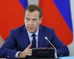 Thủ tướng Medvedev và toàn bộ chính phủ từ chức để ông Putin sửa hiến pháp