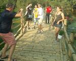 Cầu tre dài nhất Việt Nam và rừng tràm Trà Sư lập kỷ lục Việt Nam