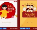 Mời tạo thiệp chúc tết tặng người thân yêu trên Tuổi Trẻ Online