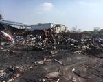 Điều tra vụ cháy bãi tập kết có rác thải nguy hại ngày giáp tết