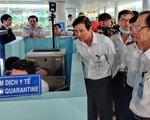 Thủ tướng yêu cầu kiểm tra chặt các cửa khẩu trước dịch virút corona