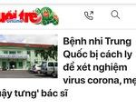 Hai bệnh nhi Trung Quốc ở Khánh Hòa âm tính virus corona
