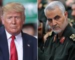 """Ông Trump: """"Tướng Soleimani lẽ ra bị tiêu diệt từ nhiều năm trước"""""""
