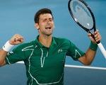 Thắng nhanh Federer, Djokovic vào chung kết Giải Úc mở rộng 2020