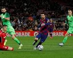 Messi lập cú đúp, Barcelona