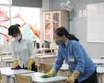 Hà Nội: các trường khử khuẩn, tạm dừng hoạt động ngoại khóa