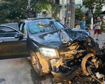 Tài xế xe hơi tông chết bác tài Grab 64 tuổi ra trình diện, dương tính ma túy