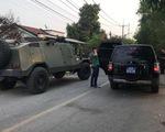 Cảnh sát giảm quân số truy bắt nghi can xả súng ở Củ Chi