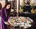 Trưng bày mâm cỗ, mâm ngũ quả 3 miền trong Lễ hội Tết Việt