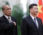Ông Tập Cận Bình ca ngợi Kiribati khi cắt quan hệ với Đài Loan