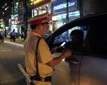 Lái xe vi phạm nồng độ cồn ở Vũng Tàu giảm thấy rõ