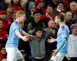 Man City 'giải quyết gọn' Man United ở bán kết lượt đi Cúp liên đoàn