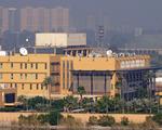 Khu vực có sứ quán Mỹ ở Iraq lại bị tấn công bằng rocket