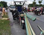Em gái 13 tuổi chạy xe máy đụng xe ba bánh, chết tại chỗ