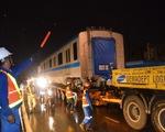 3h sáng 10-10, 3 toa tàu metro số 1 đã về tới depot quận 9