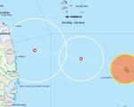 Áp thấp nhiệt đới cách Song Tử Tây hơn 200km, từ Quảng Trị đến Quảng Ngãi mưa to đến rất to