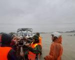 Quảng Nam: Lũ chưa rút, bão sắp vào, dân lo lắng