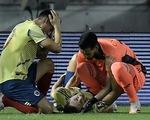 Video: Hậu vệ Colombia gãy chân ở vòng loại World Cup 2022