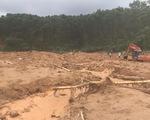 Cận cảnh hiện trường vụ sạt lở ở Trạm bảo vệ rừng 67