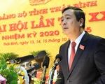 Tiến sĩ điện tử - viễn thông tiếp tục được bầu làm bí thư Tỉnh ủy Thái Bình