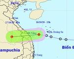 Áp thấp nhiệt đới cách Đà Nẵng - Bình Định 160km, đất liền gió giật cấp 7