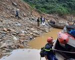 Mưa lớn cản trở tìm kiếm 16 công nhân mất tích ở Thủy điện Rào Trăng 3
