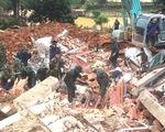 Sạt lở núi vùi lấp 22 cán bộ chiến sĩ ở Quảng Trị: Khẩn cấp tìm kiếm 17 người còn lại