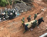 Trực tiếp từ hiện trường tìm kiếm 22 chiến sĩ: Đã tìm thấy tất cả thi thể
