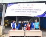 Nhật viện trợ khẩn cấp tới người dân vùng bão lũ ở Thừa Thiên Huế