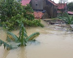 Hôm nay Hà Tĩnh, Quảng Bình lại mưa to đến rất to, có nơi vượt 100mm