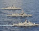 Tàu chiến Mỹ, Nhật, Úc tập trận lần thứ 5 trong năm 2020 trên Biển Đông