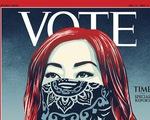 Lần đầu tiên sau gần 100 năm, tạp chí TIME đổi thành VOTE