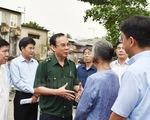 Bí thư Thành ủy Nguyễn Văn Nên đi khảo sát dự án chống ngập