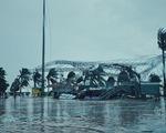 Chùm ảnh bão số 9 bắt đầu quần thảo ở Đà Nẵng