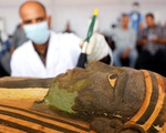 Ai Cập mở quan tài 2.500 năm tuổi, xác ướp còn nguyên
