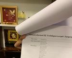 33 ứng viên giáo sư, phó giáo sư ngành y bị tố cáo: 4 người xin rút