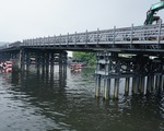 Từ 7h30 ngày 31-12, người dân có thể đi qua cầu sắt An Phú Đông thay phà
