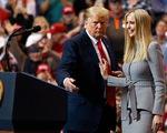 Ivanka Trump gây quỹ 13 triệu USD giúp ông Trump tranh cử