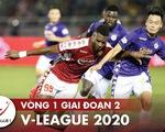 """Lịch trực tiếp V-League  ngày 10-10: """"Đại chiến"""" Hà Nội - CLB TP.HCM"""