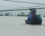 5 xã ở huyện miền núi Hà Tĩnh bị cô lập do mưa lũ
