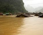 Lũ sông Kiến Giang dao động ở mức cao