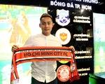 Đồng ý 8 tỉ đồng, cựu tiền đạo U23 Việt Nam Hồ Tuấn Tài gia nhập CLB TP.HCM