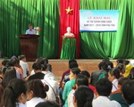 Lộ đề thi công chức tại Phú Yên: Tiếp tục khởi tố 8 cán bộ
