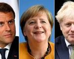 Ông Biden điện đàm với lãnh đạo Anh, Pháp, Đức: