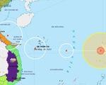 Bão Vamco đã vào Biển Đông, gió mạnh cấp 12, giật cấp 15